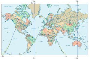 Astro Landkarte: Vollmondeklipse 28. November 2012