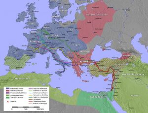 Ausgangspunkt der Kreuzzüge von 1096
