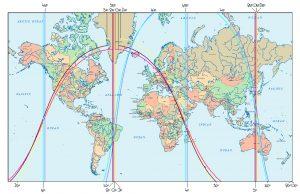Neumond, 5. Juni 2016, astrokartografisch