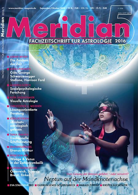 Cover Zeitschrift Meridian Magazin Ausgabe 5/2016