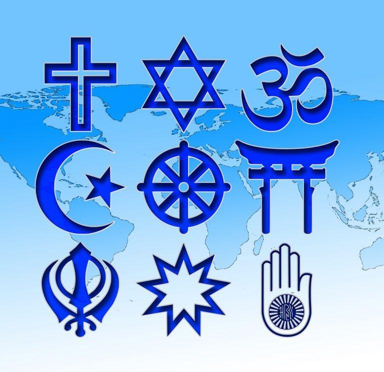 Grafik Religionen der Welt