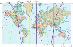 Astrokartografie, Sonnenfinsternis 26.2.2017