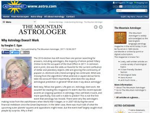 Mountain-Astrologer bei Astrodata