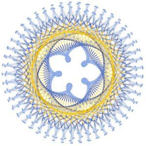 Venus-Sonne-Mandala