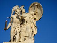 Mars und Athene, Mars in Widder